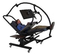 Reclining Gravity Chair Zero Gravity Workstation 7