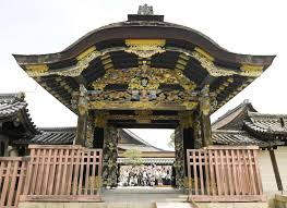 Decoration Of Temple In Home Nishi Honganji Temple Opens Decorative Gate For First Time In