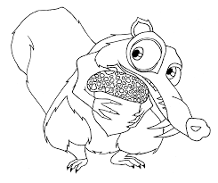 ice age coloring pages free colouring pages 3693