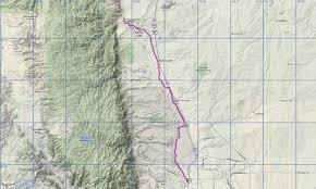 Colorado Springs Colorado Map by Santafe Trail