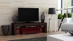 Wenge Living Room Furniture Tv Stand 130 Modern Led Tv Cabinet Living