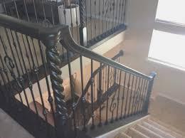 Restaining Banister Rail Denverstairltd