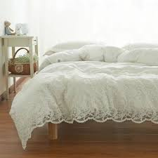 the 25 best white lace bedding ideas on pinterest lace bedding