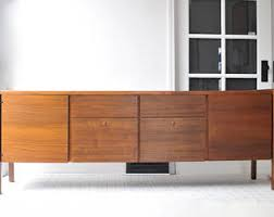 Credenza Tv Mid Century Tv Stand Etsy