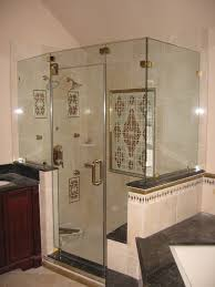 how to clean glass shower doors bathroom design featuring large