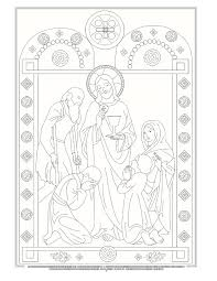 429 catholic coloring sheets images coloring