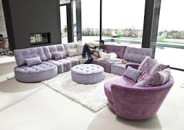 canapé angle rond acheter votre canapé d angle contemporain lignes arrondies chez