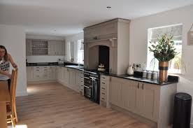 grey kitchen cupboards with black worktop clients grey ash kitchen with absolute black granite