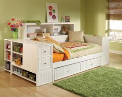 White Wooden Daybed Daybed Rustic White Wooden Girl Daybeds With Trundle Beautiful