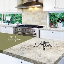 Painted Kitchen Countertops by Glossy Painted Kitchen Ideal Kitchen Countertop Paint Fresh Home