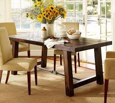 Dark Wood Dining Tables Dining Room Cozy Dark Costco Dining Table With Leather Parson