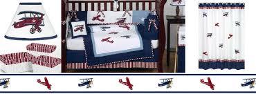 Vintage Aviator Crib Bedding Vintage Aviator Boys Planes Bedding Sets