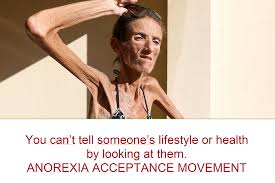 Anorexia Meme - you can t tell someone s lifestyle or health by looking at them