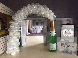 wedding arch balloons weddings balloons balloon cork