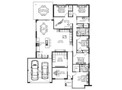 5 Bedroom House Designs The Toronto 5 Bedrooms Family Designs The Plan Homes