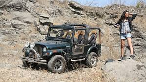 jeep soft top open in pictures mahindra thar overdrive
