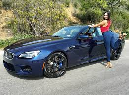 bmw m6 blue bmw smith individual bmw m6 gran coupe in tanzanite blue