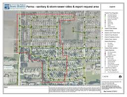 State Plane Coordinate System Map by Northeast Ohio Regional Sewer District Will Study Storm Water In