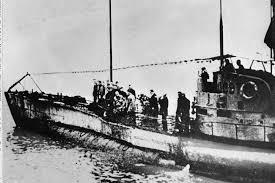 wwi u boat found off belgium coast with 23 bodies inside new