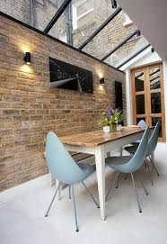 16 charming dining rooms with exposed brick wall glass ceiling
