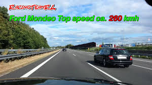 ford mondeo mk4 2 0i 240 ps ecoboost top speed ca 260 kmh youtube