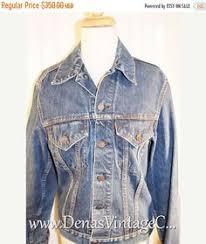 retro vintage 60s denim jc penneys sherpa jacket fleece lined coat