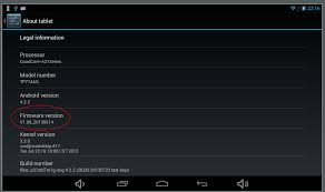 android firmware how to obtain firmware version of android programmatically