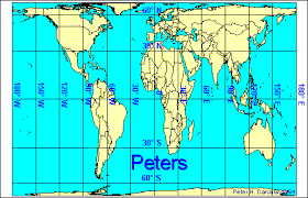 what is a map projection the wing query