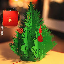 bulk christmas cards 3d merry christmas tree 3d laser cut pop up paper bulk