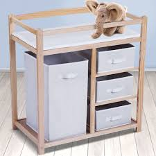 rolling baby changing table baby infant changing table unit rolling bath station storage