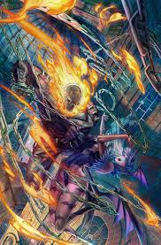ghost rider marvel vs capcom wallpapers ghost rider favourites by devilwolf9 on deviantart