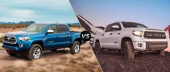 toyota tundra 2016 toyota tacoma vs 2016 toyota tundra
