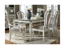 liberty furniture magnolia manor dining 7 piece rectangular table