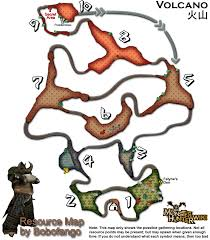 Resource Map Image Volcano Resourcemap Png Monster Hunter Wiki Fandom
