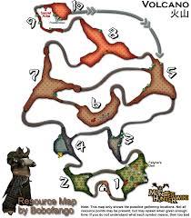 Resource Map Image Volcano Resourcemap Png Monster Hunter Wiki Fandom