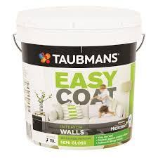 taubmans easycoat interior wall paint 10l low sheen white