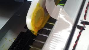 epson workforce 4540 leaking ink youtube
