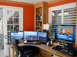 home office setups 15 envious home computer setups inspirationfeed