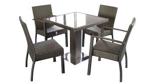Stone Top Patio Table by Metal Outdoor Dining Table U2013 Thejots Net