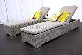 Garden Recliner Cushions Garden Lounger Cushion 60cm Wide On Sale Fast Delivery