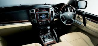 mitsubishi galant 2015 interior 2015 mitsubishi pajero mild updates for ageing suv ahead of all