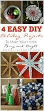 Easy Diy Christmas Ornaments Pinterest 498 Best Christmas Crafts Images On Pinterest Christmas