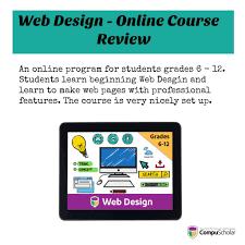 high school web design class web design compuscholar inc online class review hsreviews