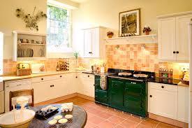 Terracotta Floor Tile Kitchen - terracotta floor tile with tile splashback kitchen farmhouse and