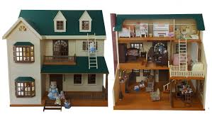 house on the hill room tour sylvanian families calico critters
