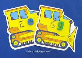 transportation unit study labeling parts of a car preschool