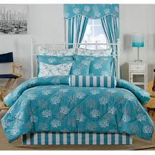Beachy Comforters Delectablyyours Com Captiva Coastal Beach Bedding Comforter