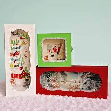 put those old christmas cards to good use and make these darling