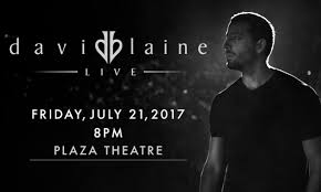 black friday el paso david blaine brings magic to the plaza theatre on his first ever