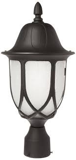 Outdoor L Post Lighting Fixtures Designers 2866 Bk Capella Post Lanterns Black Outdoor